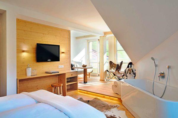 Hubertus Hotel Zimmer